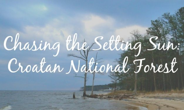 Chasing the Setting Sun: Croatan National Forest