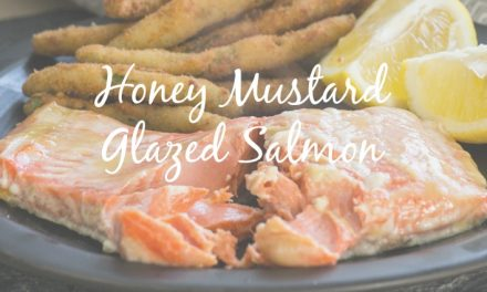 Honey Mustard Glazed Salmon [Easy Recipe]