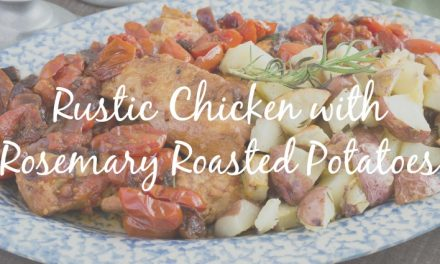 Rustic Chicken with Rosemary Roast Potatoes [Simple Dinner Recipe]