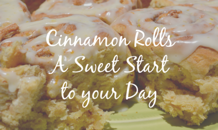 Cinnamon Rolls [A Sweet Start to your Day]