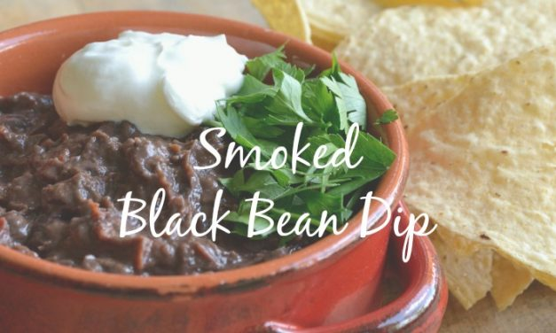 Smoked Black Bean Dip [With a Little Bite of Chipotle]