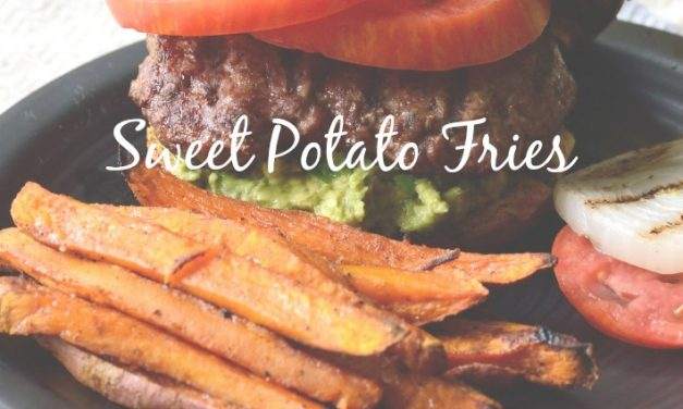 Sweet Potato Fries [Easy, Healthy Indulgence]