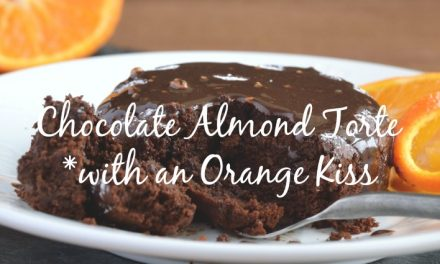 Chocolate Almond Torte With a Kiss of Orange