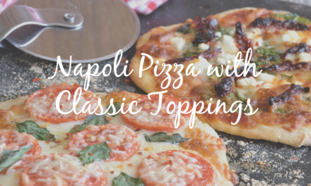 Napoli Pizza [Classic Topping for a Favorite Meal]