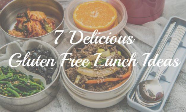 7 Delicious Gluten Free Lunch Ideas