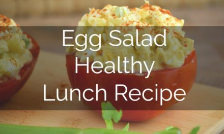 Simple Egg Salad [Great to Dip or Fill]