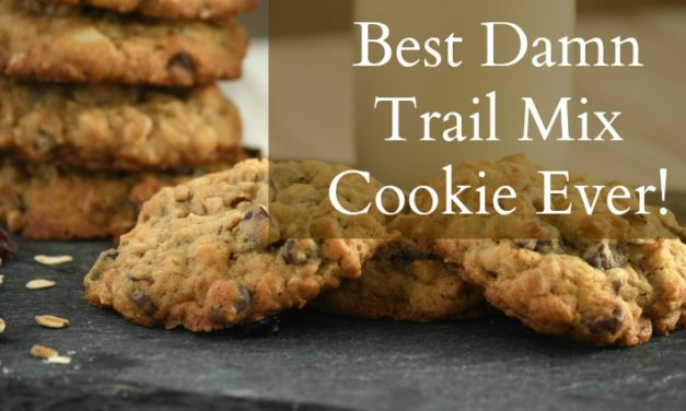 The Best Damn Trail Mix Cookies Ever!