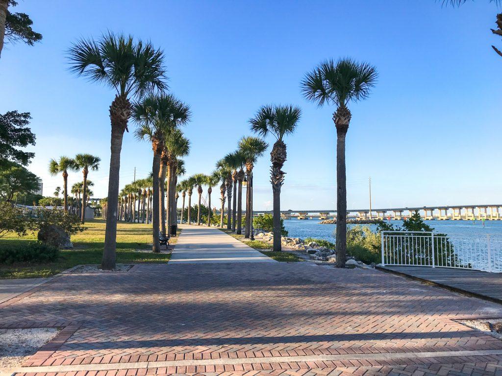Historic downtown Fort Pierce, Florida