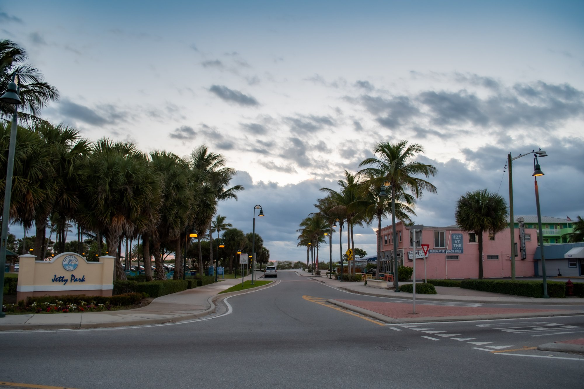 Jetty Park in South Beach in just steps to the sand in Fort Pierce, Florida. Travel, tourism, what to do in Fort Pierce