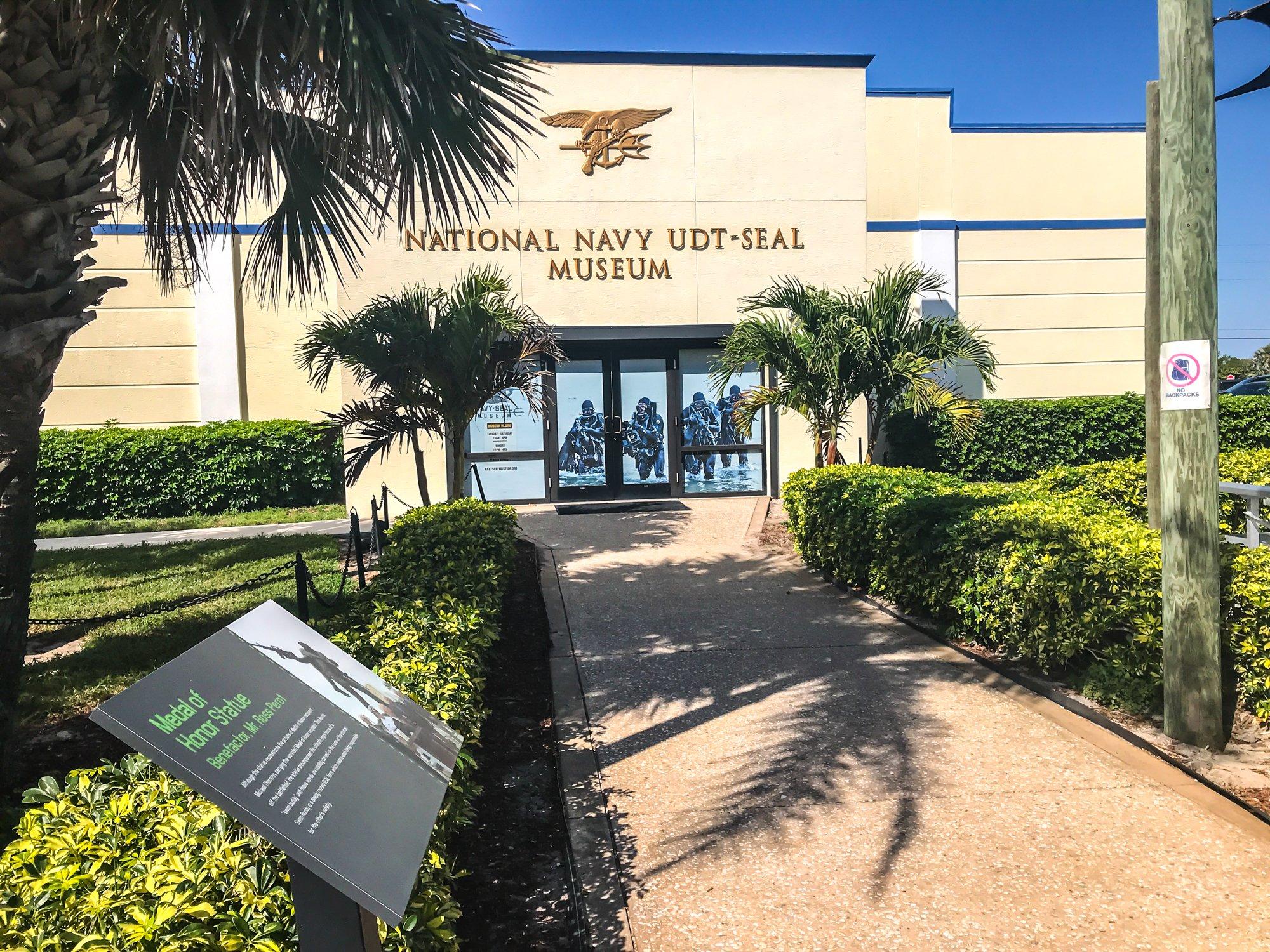 Navy SEAL museum in Fort Pierce Florida